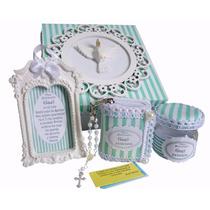 4 Kits Lembrancinha Batizado Padrinhos Madrinhas Menino