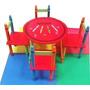 Conjunto De Mesa E Cadeiras Infantil (quarto De Criança)