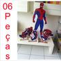 6 Display Totem Homem Aranha Painel C/ Mercado Envios