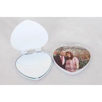 Espelhos De Bolsa Em Formato De Coração-kit Com 50 Unidades