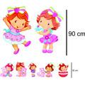 7 Display Moranguinho Baby - 2 De Chão + 5 De Mesa