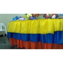 Kit Decoração Galinha Pintadinha (7 Enfeites Eva 3d + Saia)
