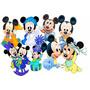Decoração Mickey Baby Centro Mesa Convidados Ou Bolo