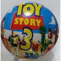 Bola De Vinil - Toy Story 3 Kit 50 Unidades.
