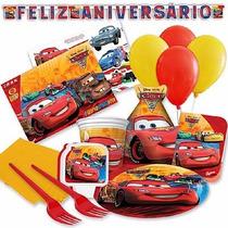 Kit Festa Aniversário Festa Infantil Carros Para 24 Pessoas