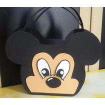 Sacolinhas Cestinha Para Lembrancinha Aniversário Mickey