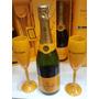 Champanhe Veuve Clicquot + 2 Taças Veuve Clicquot