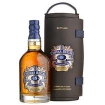 Whisky Chivas 18 Anos 1750ml C/ Canister De Couro - Original