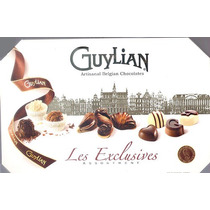 Caixa De Chocolate Guylian Belga Vazia Completa C Forminhas.