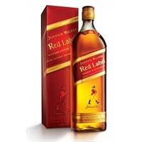 Whisky Johnnie Walker Red Label - 1 Litro
