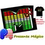 Painel Led Equalizado P/ Camisa C/ Sensor Som - Frete Grátis