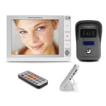 Vídeo Porteiro Eletrônico 806 De 8 Pole- E Gravador De Vídeo