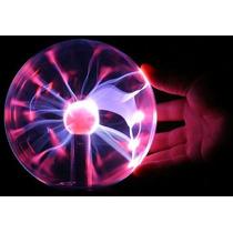 Globo Bola Tesla Ball Eletroestática Raios Plasma Ball 16 Cm