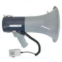 Megafone C/ Microfone De Mão Sirene Sk66 50w