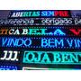Display De Led Colorido 1mtx20cm Painel Letreiro Digital