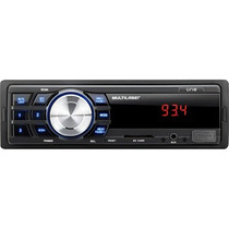 Som De Carro Automotivo One P3213 Multilaser Entrada Usb Mp3