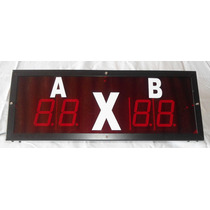 Painel Eletronico Placar Esportivo -modelo1d- Digitos 5cm