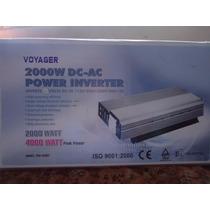 Inversor 2000w C/ 4000w Pico 12v/220v Motorhome Ar Geladeira