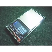 Balança Precisão Digital Cromada Profissional 0~500g C/ Capa