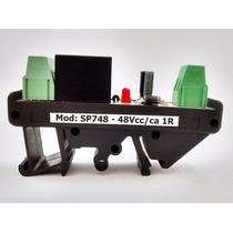 Rele Acoplador - Rele Interface - 5v, 12v, 24v, 48vca/cc 1r