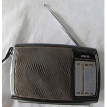 Antigo Rádio Portátil Nks 4 Band - Funcionando - A61