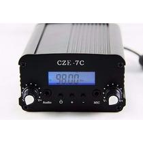 Transmissor De Fm 7w Estéreo C/ Lcd Pll Grande Alcance