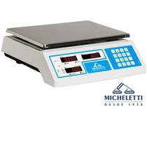 Balança Comercial Digital Com Inmetro Micheletti 15 Kg