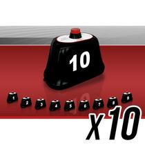 Kit Com 10 Chamadores De Mesa Para Painel Garçom