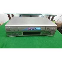 Video Cassete Phillips Vr 799 6 Cabeças Sem Controle