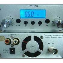 Radio Comunitária Completa Com Transmissor De 15 Watts