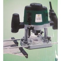 Tupia Coluna-pinça 8mm E 6mm+kit 12 Fresas 6mm 1300w - 220 V