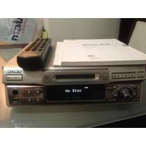 Gravador E Reprodutor Minidisc Sony Mds-s40