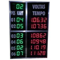 Placar Eletronico Para Cronometragem - Kart