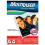 Papel De Impressão Fotográfico A4 Pe002 150gr - Multilaser