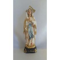 Imagens Santos Católicos Nossa Senhora De Lourdes 13 Cm