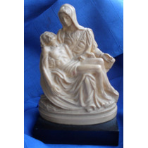 Pietá, De Michelangelo, Por G. Ruggeri. Escultura Assinada
