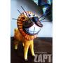 Miniatura Leão Rei (feito De Coco) - Natal | Zapt Artesanato