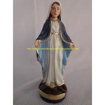 Escultura Resina Nossa Senhora Das Graças Linda Imagem 10cm