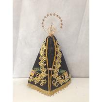 Imagem De Nossa Senhora Aparecida Em Resina - 47cm Com Coroa