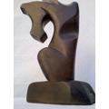 Linda Escultura Em Pedra-sabão * Cavalo * Peça Assinada !