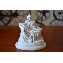 Escultura Pietá Michelangelo Po Marmore 7cm Made In Italy