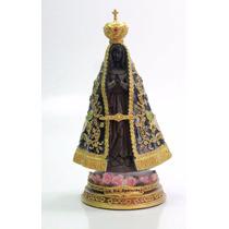 Imagem Escultura Nossa Senhora Aparecida Resina Importada