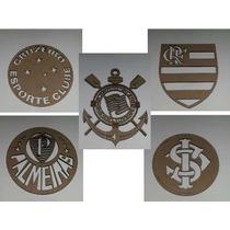 Escudos De Times De Futebol Para Decorações E Presentes.