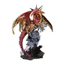 Dragão Avassalador Com Crânio - Mod. B - Caveira