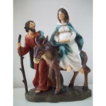 Imagem Nossa Senhora De Belém Grávida 20cm Santini Christmas