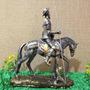 Dom Quixote De La Mancha Com Cavalo Estatueta Decoração