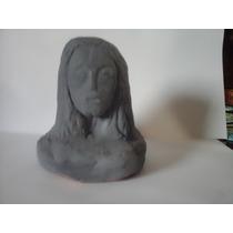 Escultura Em Argila (cristo Redentor)