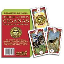 Baralho Tarot Cartas Ciganas Cigano 36 Cartas Frete Grátis