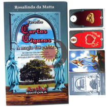 Baralho Cartas Ciganas Santa Sara Kali Frete 1 Real