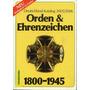 Catálogo 2006 De Medalhas E Condecorações Alemanha 1800-1945